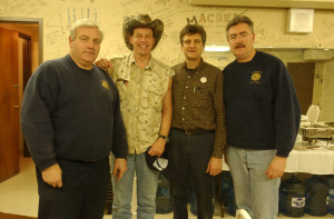 The Stagehands meet Ted Nugent